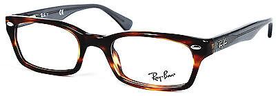 Ray-Ban Damen Herren Brillenfassung RB5150 5607 48mm braun gemustert 499 56