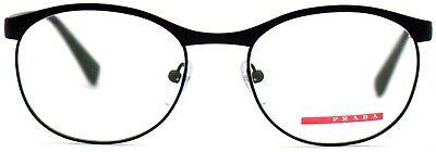 Prada Damen Herren Brillenfassung PS50IV DG0-1O1 51mm schwarz matt Vollrand 5 22