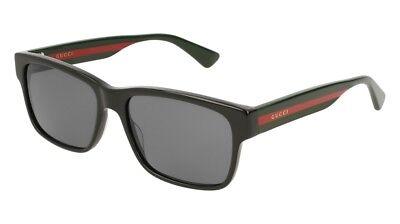 NEW Gucci Sensual Romantic GG 0340S Sunglasses 006 Black 100% AUTHENTIC