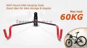 Steel Wall Mount Bike Hanging Rack Bicycle Hook Garage Storage Miranda Sutherland Area Preview