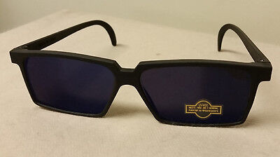 Mens Spy Glasses Mirror Sunglasses Rearview Mirrored Rear View Surveillance (Mirror Spy Glasses)