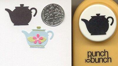 (Medium TEAPOT Paper Punch x Punch Bunch Scrapbook-Cardmaking-Quilling )
