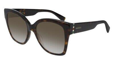 NEW Gucci Web GG 0459S Sunglasses 002 Havana 100% AUTHENTIC