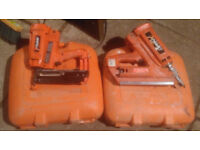 2 as new paslode nailers / nail guns , 1 for decking & 1 for skirting & door framing