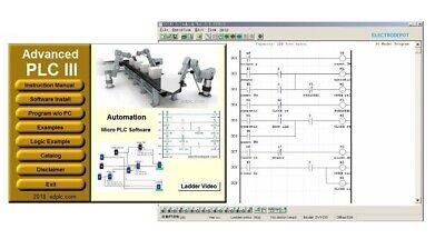 Plc Ladder Logic Programming Software W Virtual Automation Simulation Ai Ready