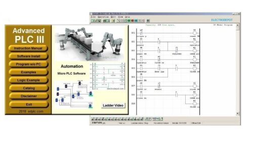 Learn Basic Artificial Intelligence Logic Programming Software, Virtual AI PLC