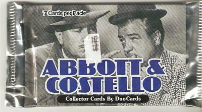 Abbott & Costello, trading cards  pack
