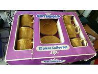 Retro coffee set