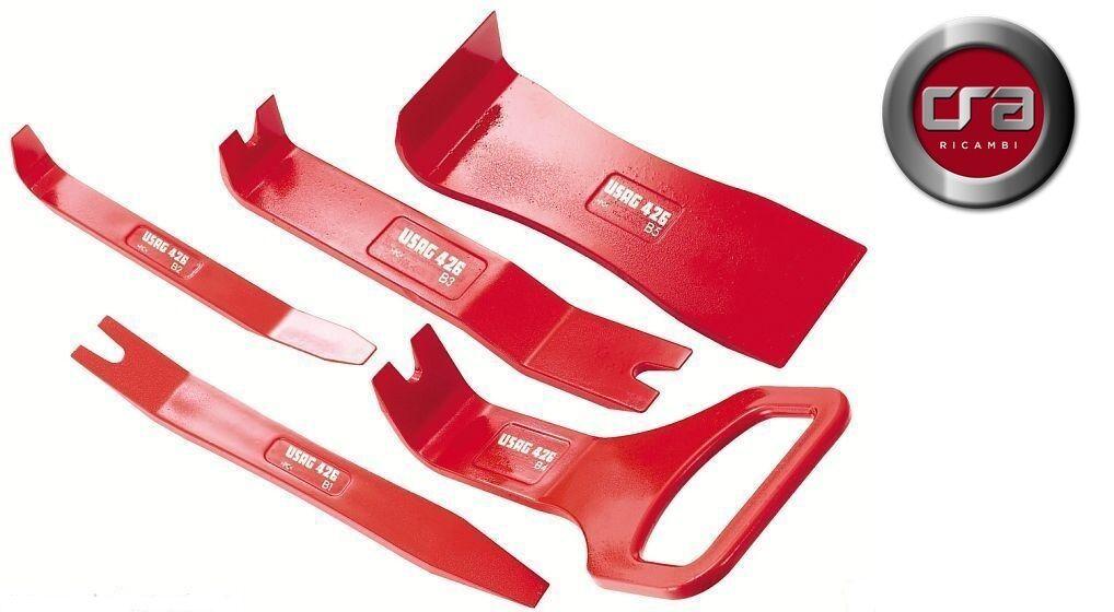 USAG 426 B/S5 KIT 5 LEVE PER SMONTAGGIO COMPONENTI IN PLASTICA CARROZZERIA AUTO