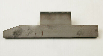 Carbide Tipped Centerless Work Rest Grinder Blade 4 Long Carbide G-1-5-5-22