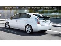 TAXI...HIRE..CAR..RENTAL..TOYOTA..PRIUS MINICAB HIRE/ RENTAL LONDON BIRMINGHAM LICENSE APPROVED
