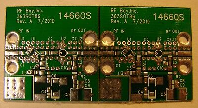 Develop Pcb For Rf Mmic Amplifier That Has Sot-363sot-86 Package Qty.2