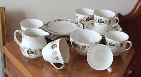 Royal Doulton Larchmont Fine China Tea Set