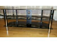 Glass TV Stand For Plasma & LCD TV Up to 50-inch