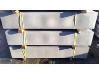 🚀Plain Concrete Fencing Base Panels * New