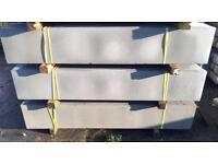 Plain Concrete Fencing Base Panels * New