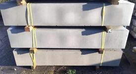 👑Plain Concrete Fencing Base Panels * £8.50