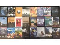 29 Surfing, Windsurfing, bodyboarding DVD's
