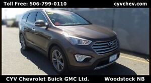 2014 Hyundai Santa Fe XL LIMITED - 6 Passenger, Sunroof & Leathe