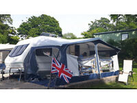 DOREMA Montana Super Lux full-size Blue awning