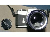 Asahi Pentax Spotmatic 2 with Tele Takumar 200mm lens