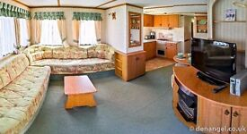 Holiday Caravan Self catering accommodation to rent Leysdown-on-sea, Kent (50 mile from London)