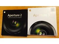 Aperture 2 (Full version) and upgrade to Version 3