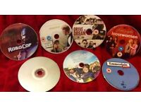 Bundle of 7 DVDS £5 the Lot Robocop drive to dream Emmerdale loose woman Maurice 2films on 1 dvd