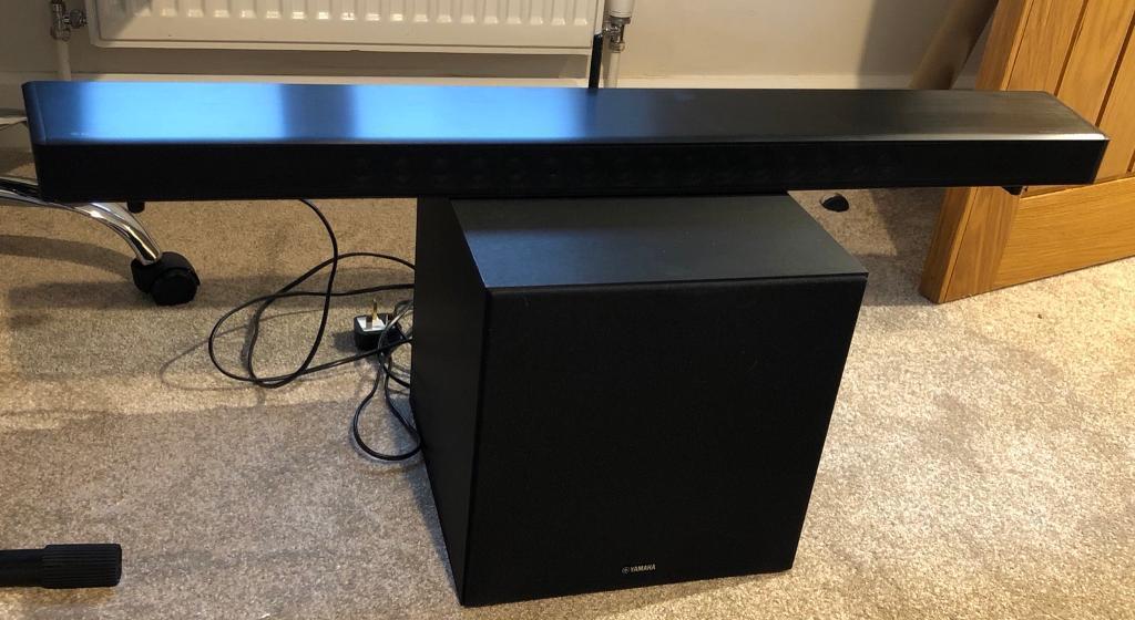 yamaha ysp 2700 ysp2700 soundbar sound bar in croydon. Black Bedroom Furniture Sets. Home Design Ideas