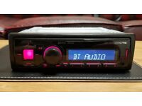 CAR HEAD UNIT ALPINE UTE - 72BT BLUETOOTH PLAYER MP3 USB AUX 4 x 50 WATT AMPLIFIER STEREO BT