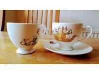 Pair of Whittard teacups