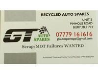 WANTED! SCRAP/MOT FAILURE TOYOTAS!!!!!