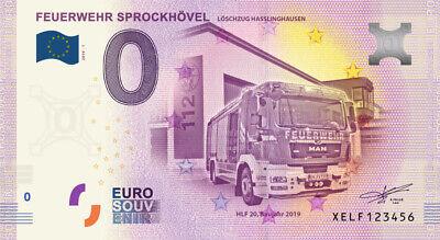 Billet 0 Euro - Feuerwehr Sprockhovel - 2019-1