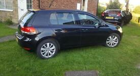 2011 VW Golf 1.6 tdi Match dsg Auto black