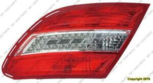 Tail Lamp Passenger Side Led Withcurve Lighting 08-11 High Quality Mercedes C-Class 2008-2011
