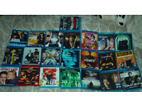 100 UK bluray Films like new and some sealed