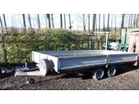 Indespension 14 Foot Dropsided Trailer