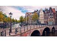 Return Flights to Amsterdam 25-28th May 2017