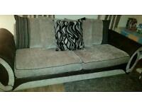 Two dfs sofas