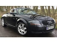 AUDI TT 1.8 TURBO 20V CONVERTIBLE ROADSTER*MOT'D UNTIL JUNE 2018 *IDEAL FOR THE SUMMER*