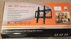 Tilting wall mounted