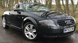 AUDI TT 1.8 TURBO 20V CONVERTIBLE ROADSTER*TIME 2 GET YER TOP OFF!*SPRING SAVINGS LIMITED TIME OFFER
