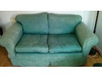 Green 6' sofa