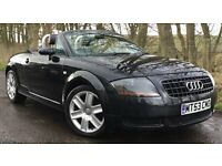 AUDI TT CONVERTIBLE 1.8 TURBO 20V ROADSTER*MOT'D UNTIL JUNE 2018 *LOW MILEAGE SPORTS ROADSTER*