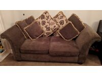 3 Seater Fabric Sofa - Excellent Condition