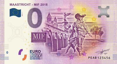 Billet 0 Euro - Maastricht - MIF 2018  - 2018-1