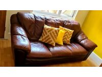 Leather sofa 2 and 3 piece