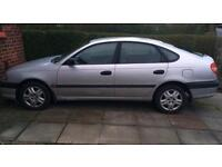 2002 Silver Toyota Avensis GS .78000 miles