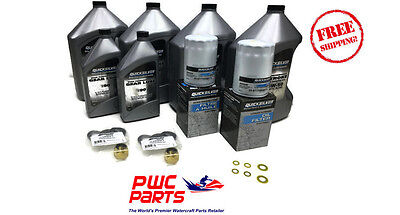 MERCURY VERADO Quicksilver L6 Oil Change  Kit TWIN 250/275/300HP 5.44 - 840383A2