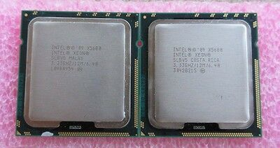Matching Pair of Intel Xeon X5680 3.33 GHz Six Core Processor - US Seller